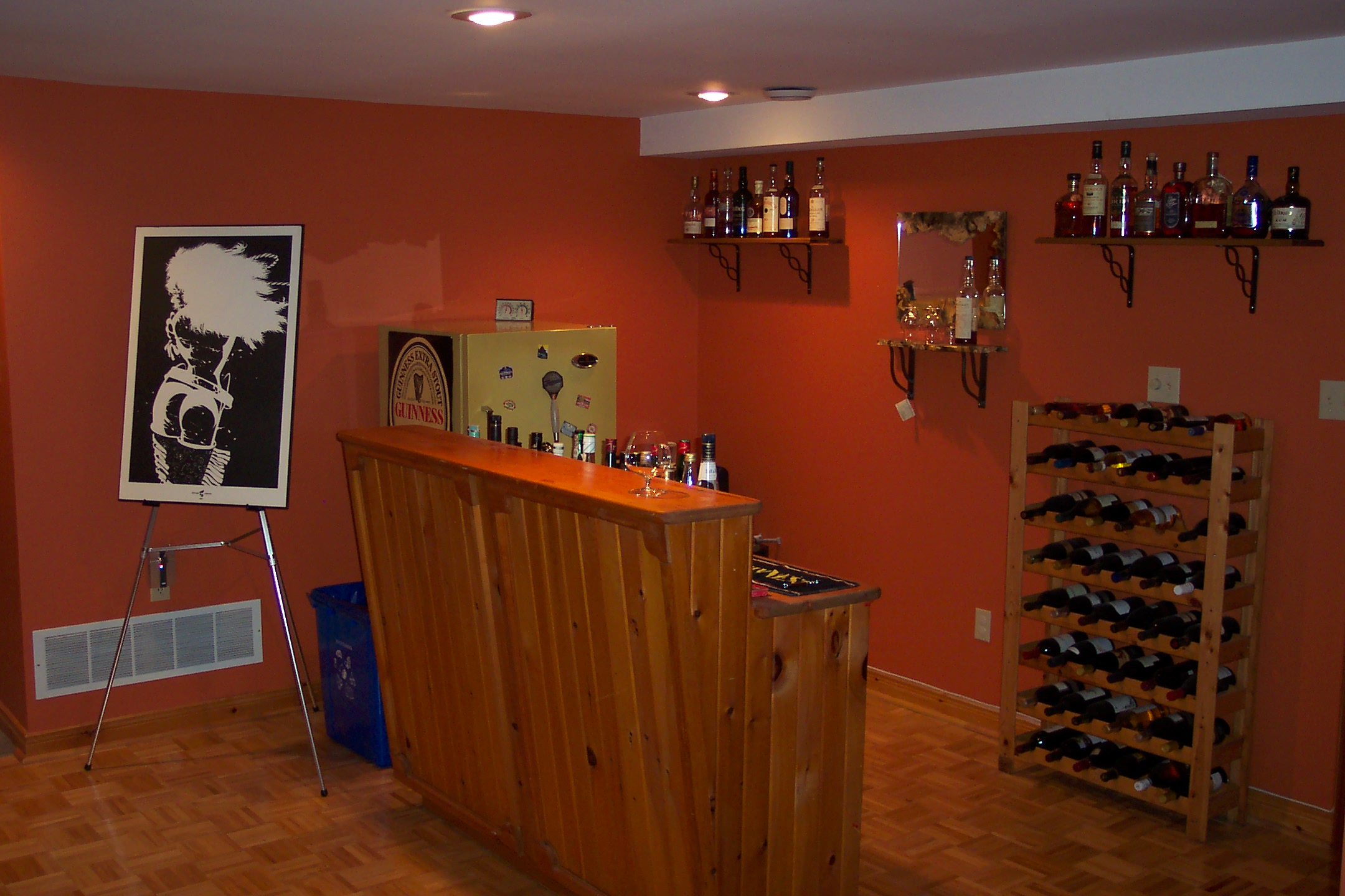 Basement rec room bar images frompo 1 - Home bar room ideas ...